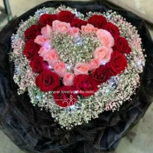 Rose Love With Led Light Bouquet